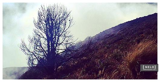 En la cumbre del Volcán de Fuego