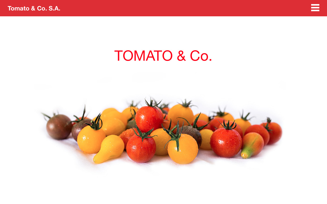 Tomato & Co Website