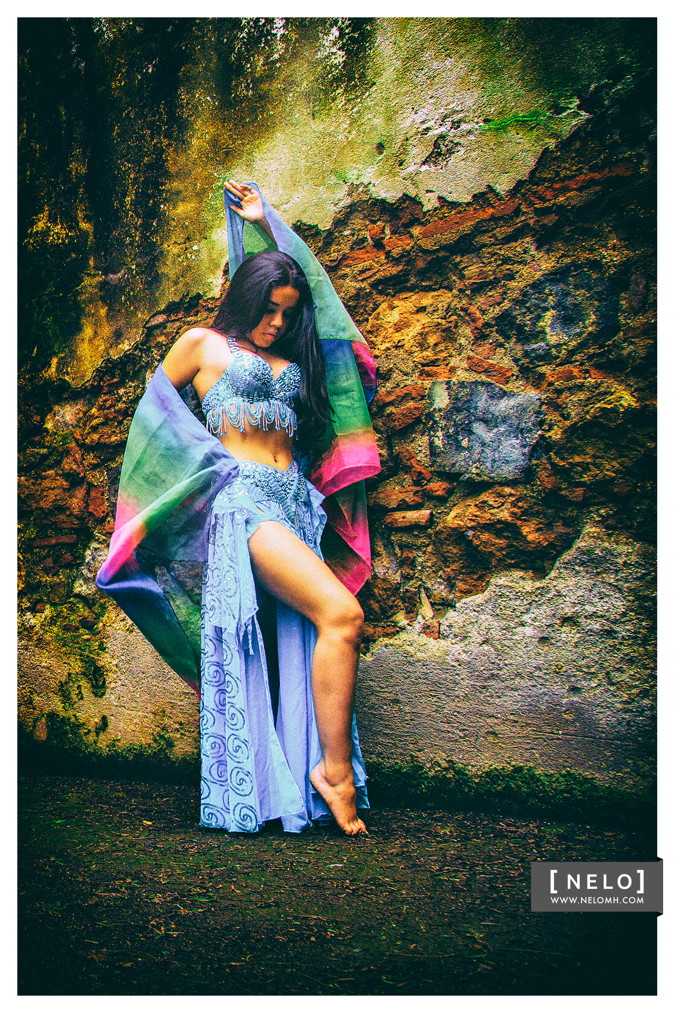 Photography in Antigua of Belly Dance Fusión
